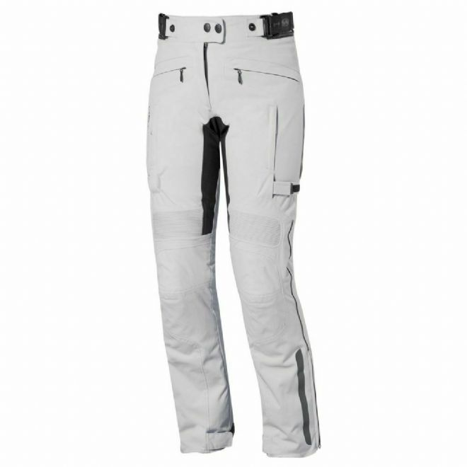 Held Acona Ladies Textile CE SASTEC armour Motorcycle Motorbike Jeans Pants Grey
